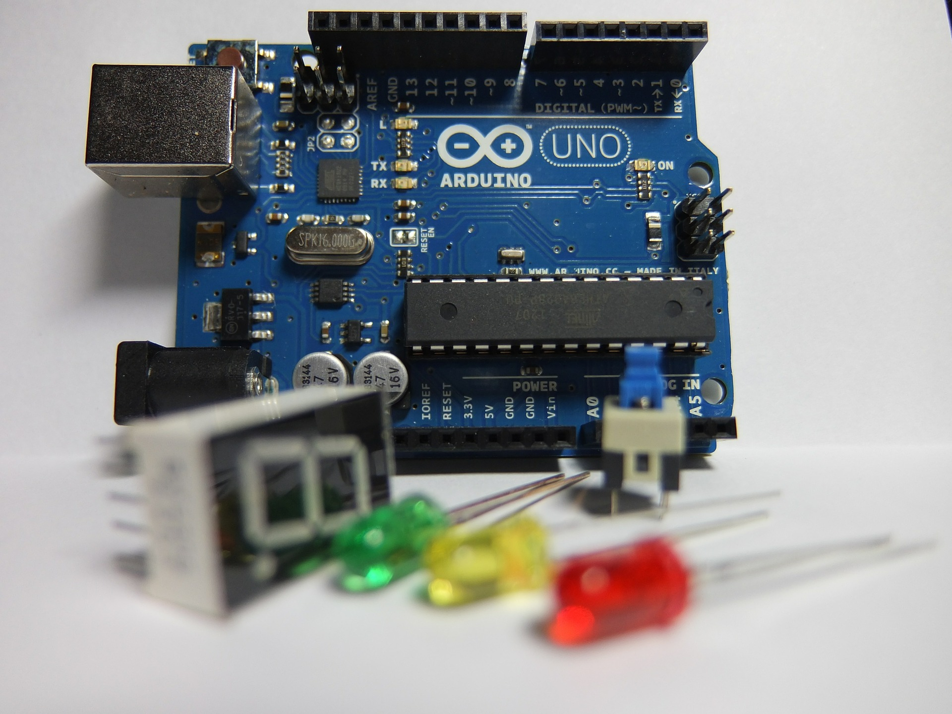 Introduction to Coding and Robotics with Arduino — Erasmus Plus Course