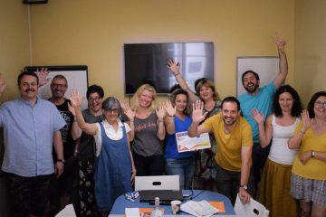 I love training teachers in Italy