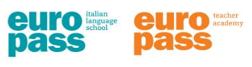 Logo Europass Italian Language School and Europass Teacher Academy
