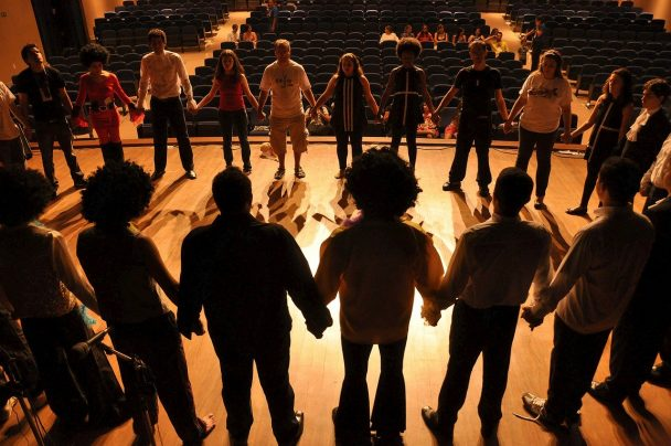Making theatre with adolescents listening deeply to young people's lives