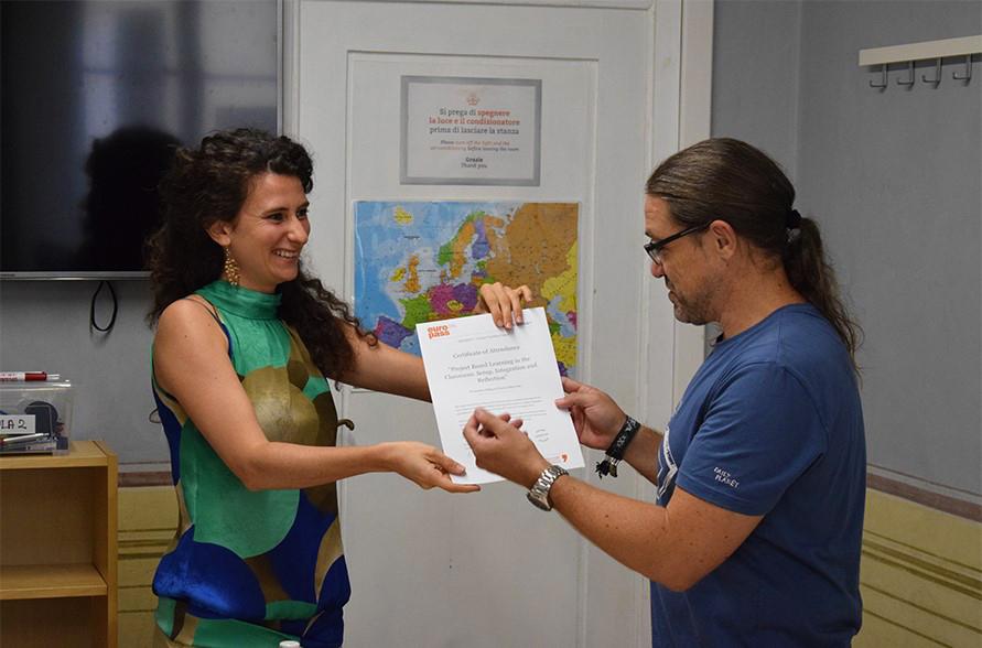 Ilaria has a  Master degree in Lingua e Cultura Italiane per Stranieri from the University of Bologna and  Ditals Certificate for Italian teaching