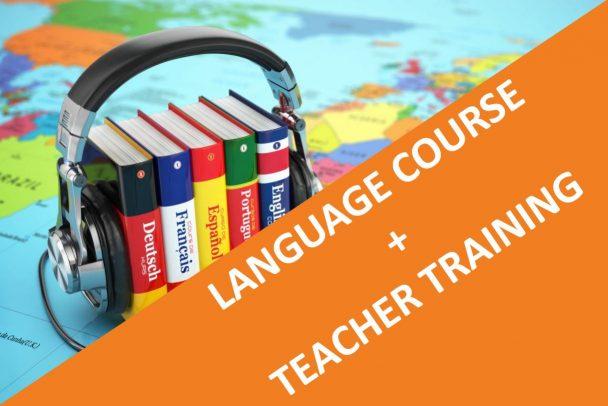language course + teacher training